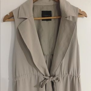Dynamite Long Open Sleeved Vest